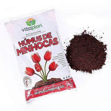 Húmus de Minhoca Puro Vitaplan 2 kg
