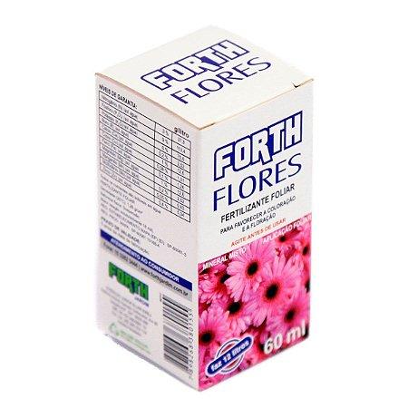Fertilizante Para Floração Forth Flores Concentrado 60 ml