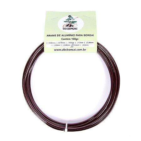 Arame de Alumínio Esmaltado Especial Para Bonsai 3,5 mm