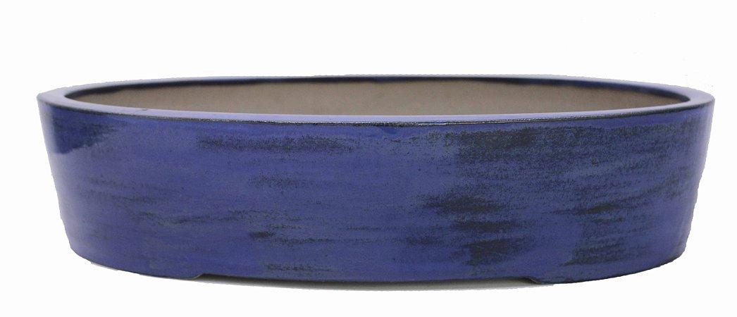 Vaso Oval Grande Esmaltado Onodera 40 X 30 X 9 cm