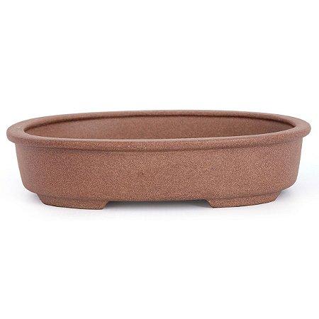 Vaso Para Bonsai Oval Mizuno 20 X 15 X 5 CM