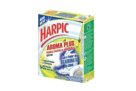 Pedra Sanitaria Aroma Plus 25gr - Harpic