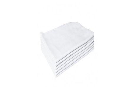 Flanela Branca 30x40 cm