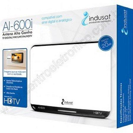 ANTENA TV INT HDTV/VHF/UHF AI600 INDUSAT