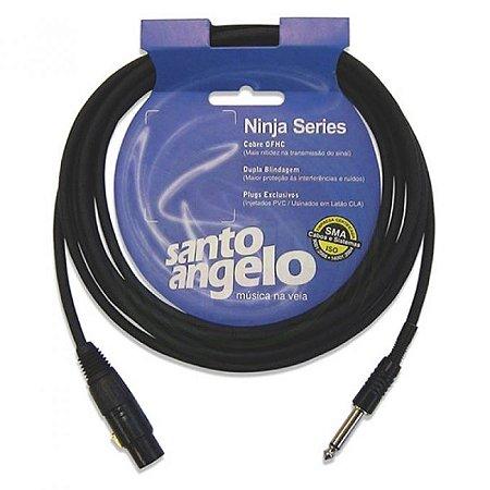 Cabo Audio 1p10m+canon 4,5m Ninja Sto An