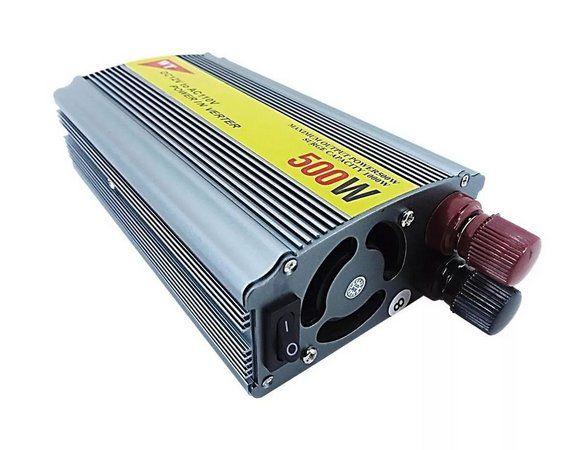INVERSOR 12V 500W X 220V(CH)US+5V FNB