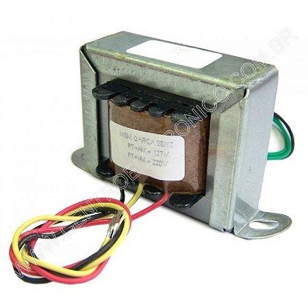 Transformador 12+12vac 6a Biv(f/l)