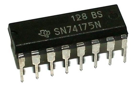 CIRCUITO INTEGRADO SN74LS175 DIP