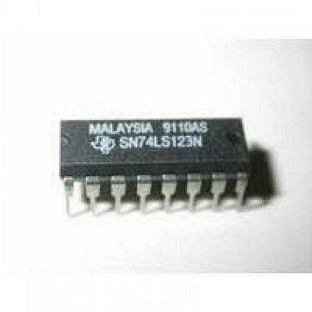 CIRCUITO INTEGRADO SN74LS123/HC123 DIP