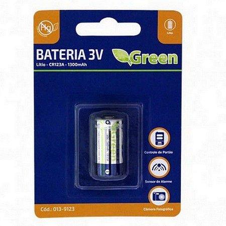 BATERIA 3V LITHIUM CR123A GREEN/GP