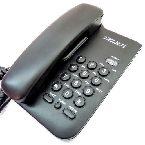 TELEFONE TELEJI KXT3026 BRANCO C/CHAVE
