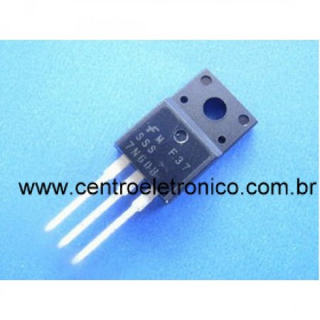 TRANSISTOR MTP7N60FI FET ISOLADO TO220