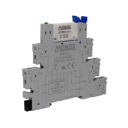 RELE 24V 6A 1CT 5T C/INTERFACE PRT8 MTX