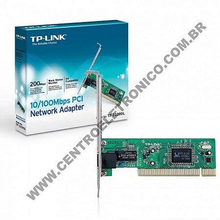 PLACA REDE 10/100MHZ TPLINK PCI 1P