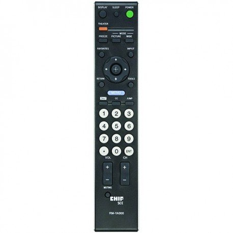 CONTROLE SONY TV LCD 32P/50P AAX2 MXB