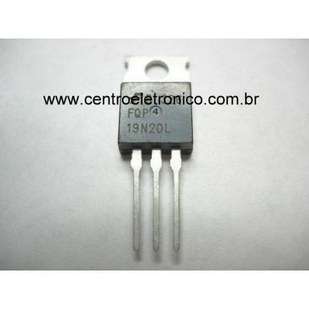 TRANSISTOR MTP19N20FP ISOL TO220 FET 19A
