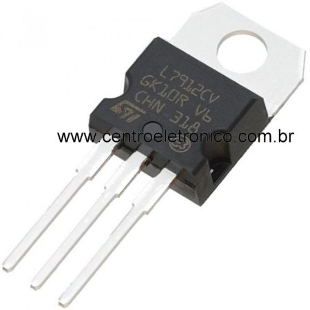 CIRCUITO INTEGRADO LM7912 -12V METAL