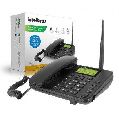 TELEFONE(G)S/FIO INTELBR MESA GSM CF5002