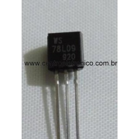CIRCUITO INTEGRADO LM78L09 +9V (TAM-BC)