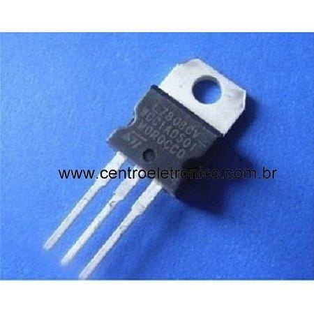 Circuito Integrado Lm7808 Metal +8v
