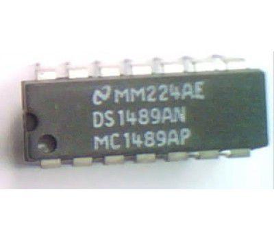 CIRCUITO INTEGRADO MC1489AN/DS1489AN DIP