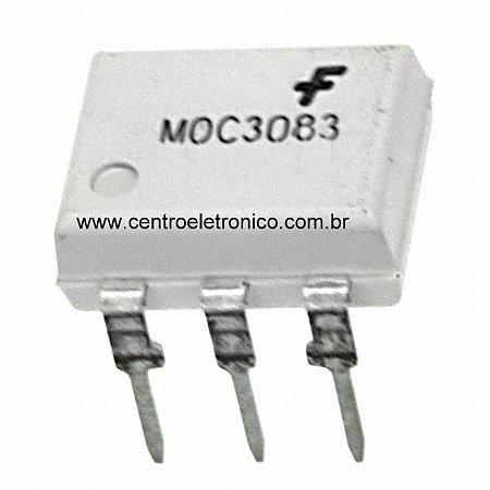 CIRCUITO INTEGRADO MOC3083 DIP