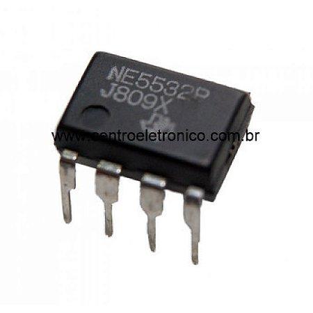 CIRCUITO INTEGRADO NE5532P/15532 8P DIP
