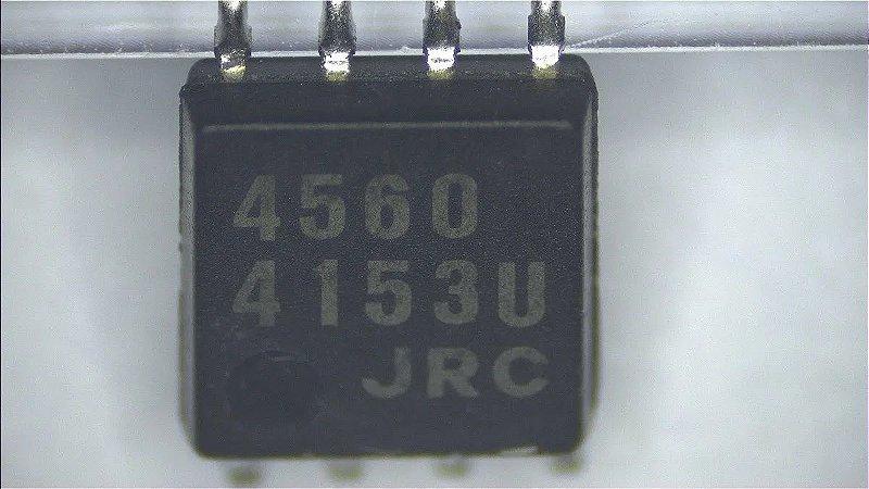 CIRCUITO INTEGRADO NJM4560/RC4560 SMD 8P