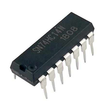 CIRCUITO INTEGRADO SN74HC14/SN74LS14 DIP