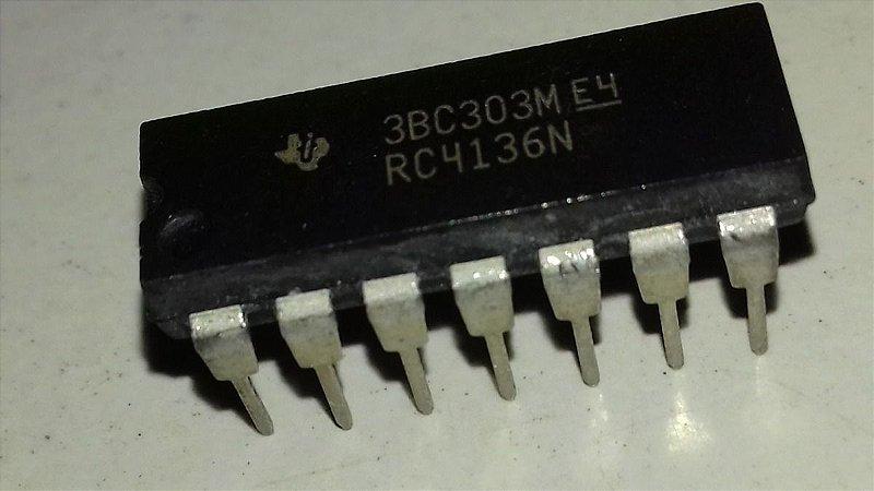 CIRCUITO INTEGRADO RC4136N DIP