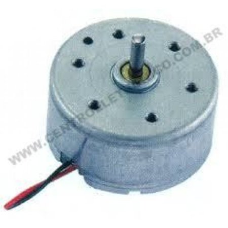 Motor Dvd 3v S/clamp Eixo 6mm