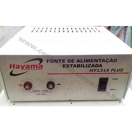 FONTE 12V 15A ESTAB LINEAR HOBBY HAYAM