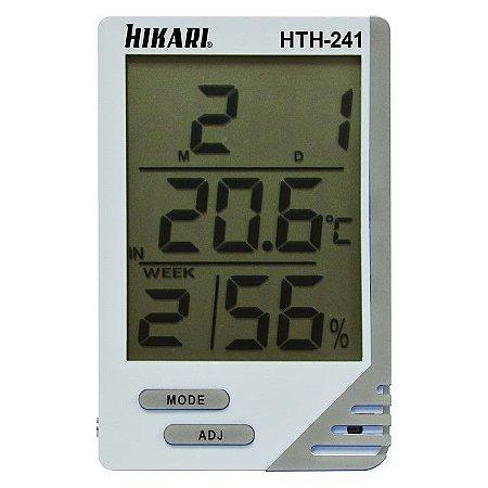 Termo-Higrômetro Digital HIkari - HTH241