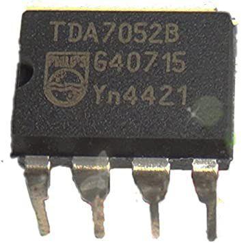 Circuito Integrado Tda7052 B 8p Dip