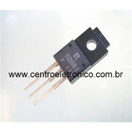 TRANSISTOR 2SD2061 ISOLADO TO220