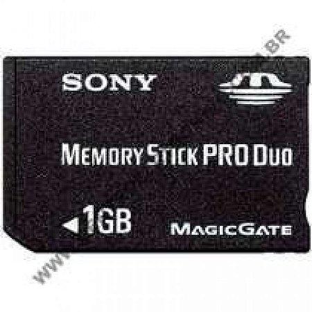 MEMORIA MAQ/FOTO 1GB SONY PRO-DUO