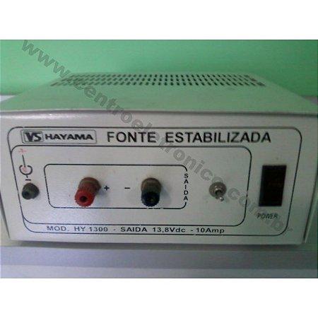 FONTE 12V 10A CHAV MESA GAB METAL HAY
