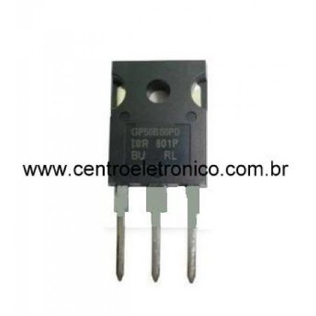 Transistor Irgp50b60 50a 600v Igbt Met