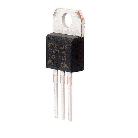 Transistor Bta08 600 10a/600v Triac