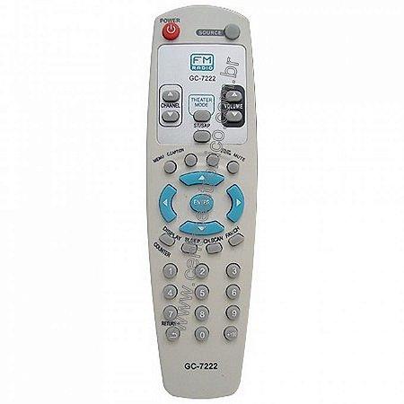 CONTROLE TV GRADIENTE G29FM/2952FM AAAX2
