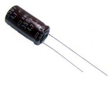 CAPACITOR ELETROLITICO 4,7MFX350V-400V 10X13