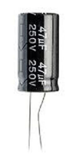 CAPACITOR ELETROLITICO 47MFX250V 13X25MM RD