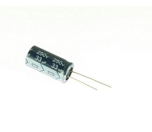 CAPACITOR ELETROL 33MFX250V 13X25M 105G