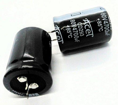 CAPACITOR ELETROL 4700MFX80V 25X50 EPCO