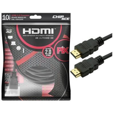 CABO VIDEO HDMI X HDMI 10MT 2.0 4K C/FIL
