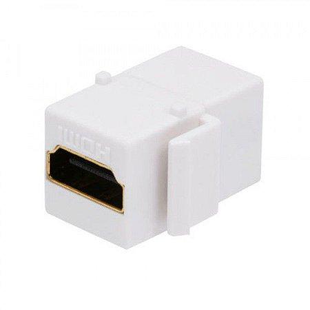 TOMADA KEISTONE HDMI P/ESPELHO BR SC+B
