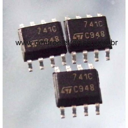 CIRCUITO INTEGRADO LM741-CDT SMD