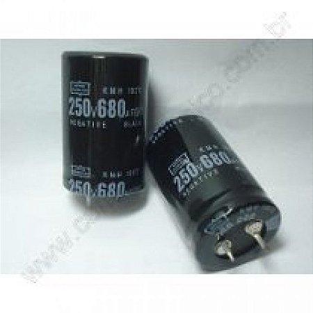 CAPACITOR ELETROL 680MFX250V 25X40 EPCOS