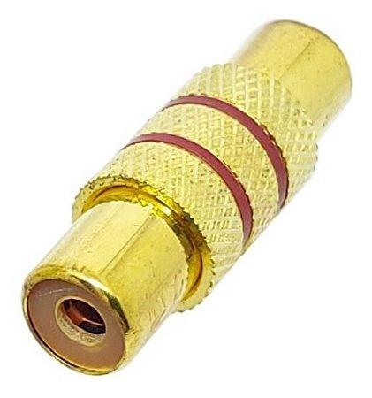 EMENDA RCA 1X1 GOLD/OURO 500214