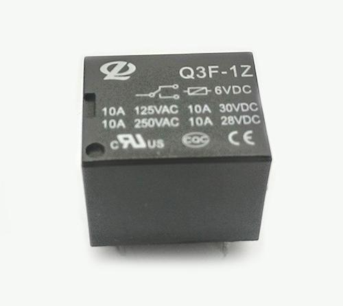 RELE 6VDC 10A 1C 5T 18X15X15MM IMP
